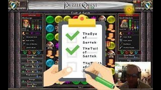 Let's Play: Puzzle Quest - Challenge of the Warlords - The Tooth Of Sartek