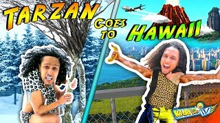 TARZAN goes to HAWAII! 1st time in Snow! || KIDD in Me TV