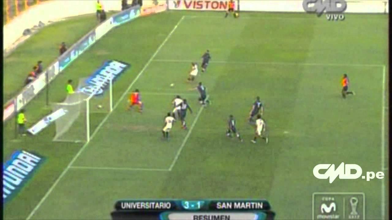Universitario De Deportes 3-1 Dep.San Martin