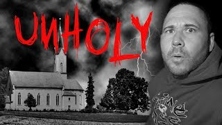 (RAN OUT) HAUNTED EVIL CHURCH (UNCUT PARANORMAL FOOTAGE)