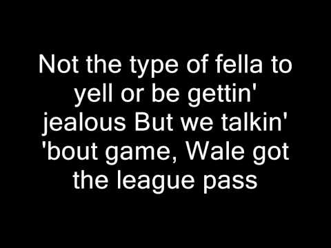 Wale - Bad Remix ft Rihanna Lyrics on Screen HD