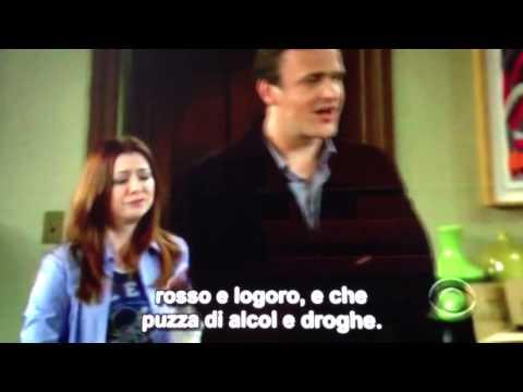 Silvio Berlusconi Pesante Battuta su How I Met Your Mother SUB ITA 8a Stagione