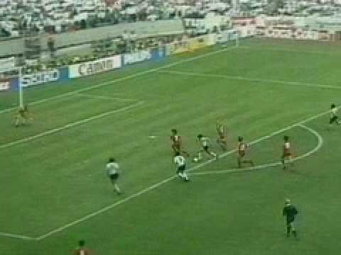 Maradona Goal. Argentina Vs. Belgium. World Cup Mexico 1986