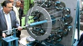 machine for tube and driftbolts over braiding MOT32-1-210