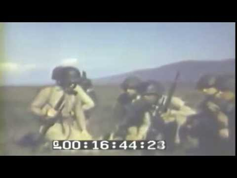 2nd Marine Division Flame Thrower Practice, 3/1944