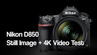 Nikon D850: Still Image Quality and 4K Video Test With Raw Image Download