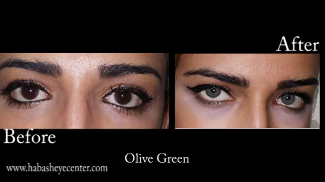 Ojos que cambian color