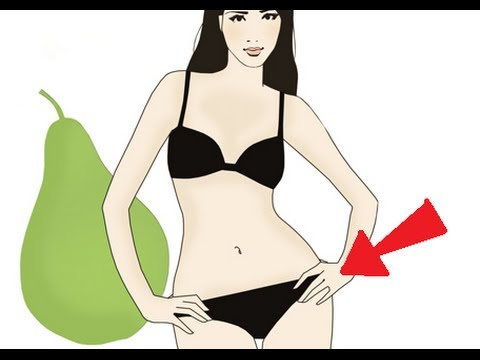 Pear shaped body exercise: Workout exercise for pear shaped women