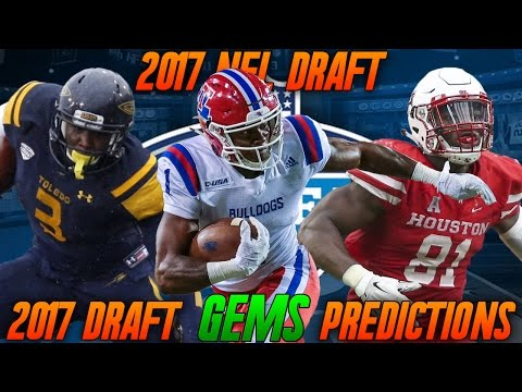 2017 NFL Draft Potential Draft Gems! 2017 NFL Draft Gem Predictions!