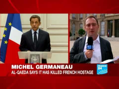 Sarkozy condemns French hostage assassination Michel Germaneau