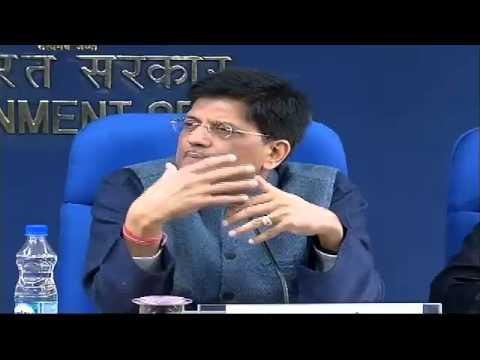 Shri Piyush Goyal briefing media on Cabinet Decision : 03.02.2016