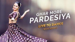 Ghar More Pardesiya   Kalank   Dance Cover   Varun, Alia & Madhuri   LiveToDance with Sonali