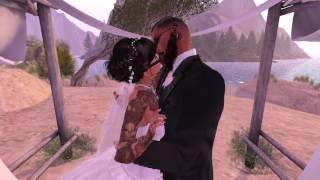 Grim & Giggles Second Life Wedding - 6.5.16