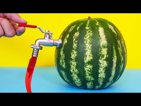 SIMPLE PARTY HACKS WITH WATERMELON