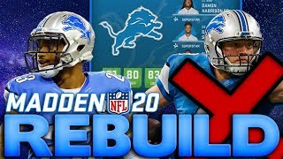 We Drafted 2 Superstar X Factor Defenders! Rebuilding The Detroit Lions Madden 20 Franchise Rebuild