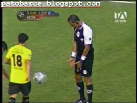 Barcelona 2 Liga de Portoviejo 0. 3 de Octubre 2009