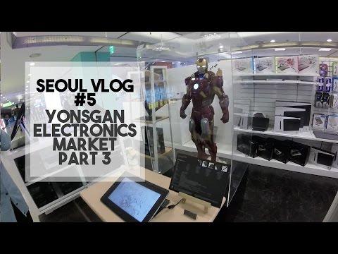 SEOUL VLOG #5: 용산전자상가 (Yongsan Electronics Market) Part 3 - Edward Avila