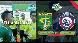 PERSEBAYA (1) vs AREMA FC (0) - Full Highlight | Go-Jek Liga 1 bersama Bukalapak