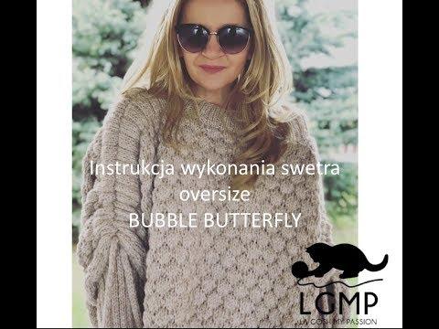 Jak Zrobić Sweter Oversize BUBBLE BUTTERFLY By LGMP
