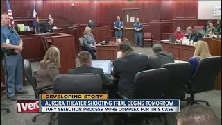 video The first of thousands of potential jurors will fill out questionnaires Tuesday in Arapahoe County. It's the first step as the Aurora theater shooting trial ...