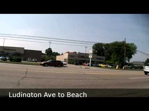 Ludington Michigan Driving Tour