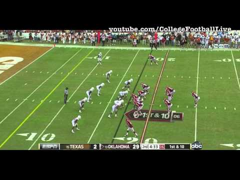 Oklahoma QB Landry Jones vs Texas ᴴᴰ