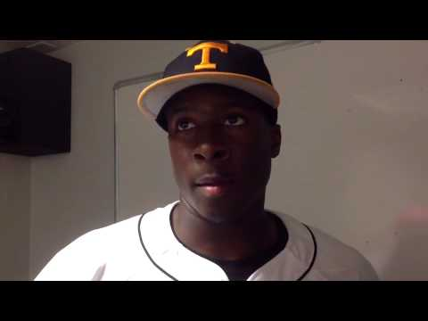 Vincent Jackson and Will Maddox: Tennessee Baseball vs. No. 11 South Carolina (4/6/13)