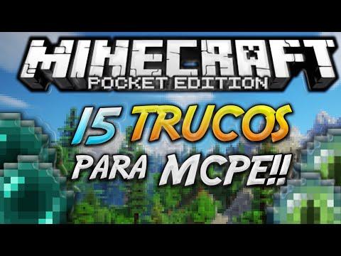 15 TRUCOS PARA MINECRAFT POCKET EDITION 0.17.0 - iPhone / iPad / Android