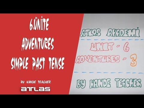 TEOG 8. SINIF ÜNİTE 6 - ADVENTURES - SIMPLE PAST TENSE