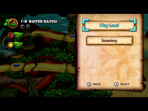 Donkey Kong Country: Tropical Freeze - World 1 (Co-op)