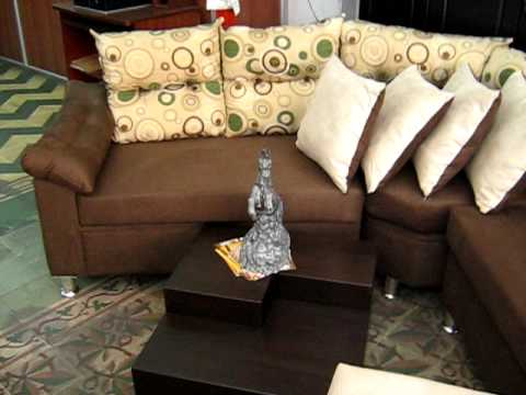 Galeria del mueble moderno youtube for Muebles de sala en l modernos