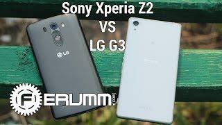 LG G3 VS Sony Xperia Z2 большое сравнение. Что лучше LG G3 или Xperia Z2 by FERUMM.COM