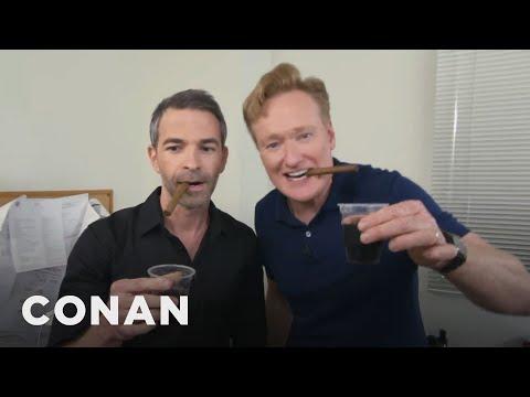 Conan Throws Jordan Schlansky A Bachelor Party