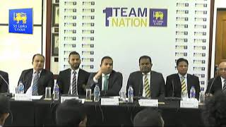 Sri Lanka Team Departure Ceremony for the ICC Cricket World Cup 2019