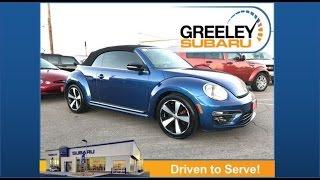2013 VW Beetle Convertible 2.0T | Daisy Lopez | Greeley Subaru