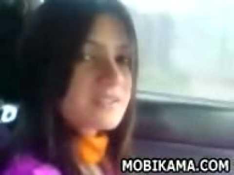 Pakistani Girl Inside Car video