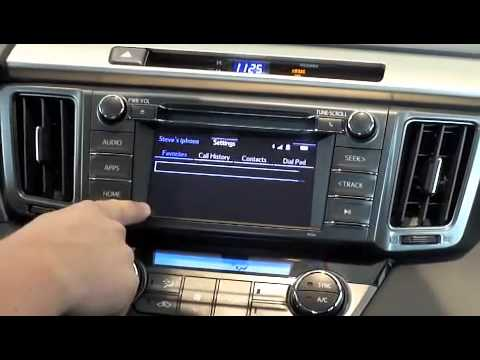 How to Use Bluetooth in Toyota Vehicles
