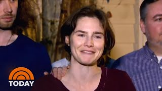 Amanda Knox Returns To Italy For 1st Time Since Acquittal | TODAY