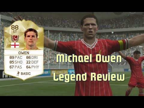 FIFA 16 - Michael Owen - Legend Review