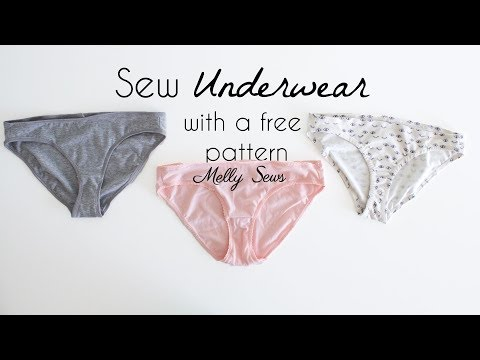 Sew Underwear with a Free Panties Pattern thumbnail