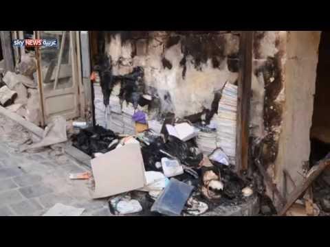 داعش تفرغ بلاد الشام من تاريخها