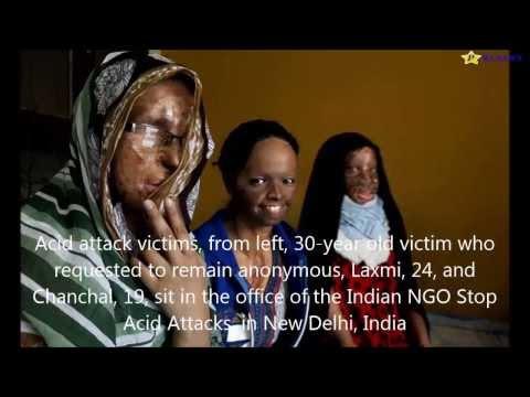 Women whose scars shame India  Victims of cruel acid attacks: Laxmi