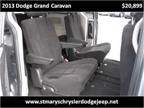 2013 Dodge Grand Caravan Used Cars Saint Marys OH