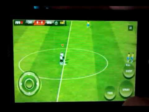 FIFA 2012 no Android Sony Ericsson Live Walkman WT19a