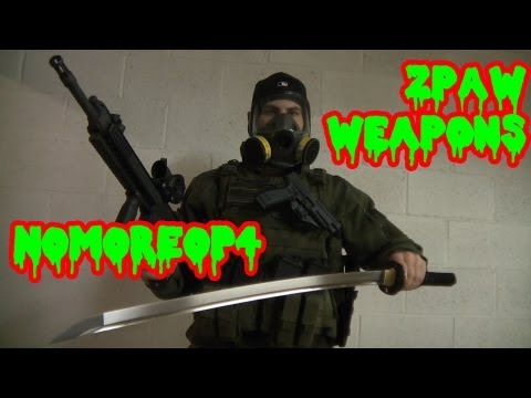 Weapons For Surviving The Zombie Apocalypse!