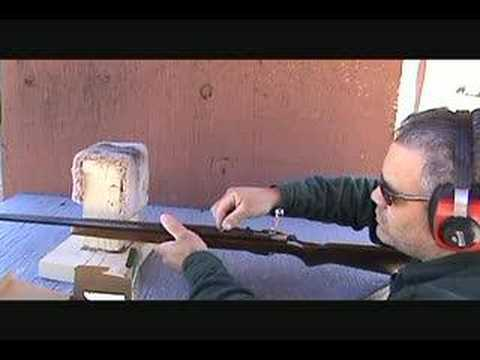 JC Higgins. Model. 41DLA. .22 Cal single shot rifle