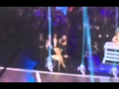 DWTS Live Feed - Meryl & Maks - Ankle Grab
