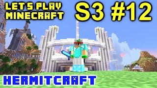 Minecraft Amplified Survival Ep. 12 - Down to the Wire !!! ( Hermitcraft Server ) Abba Caving