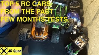 Top 5 RC Cars, RC Trucks and RC Buggies Video
