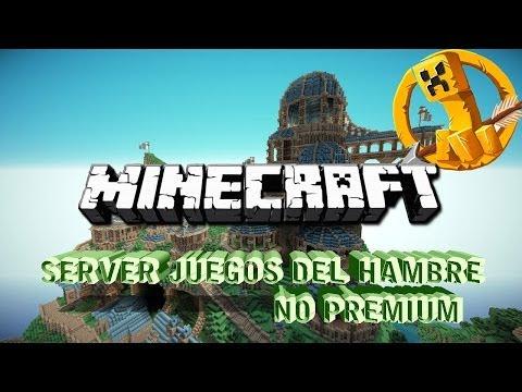 Server Juegos Del Hambre Minecraft 1.7.2 - 1.7.9  NO PREMIUM